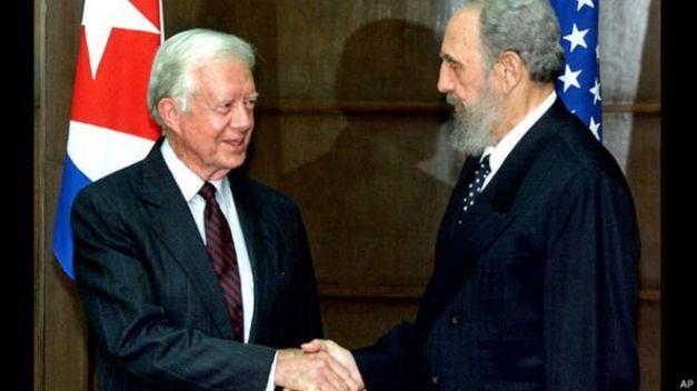 Cómo Carter y Gabo trataron de acercar a Cuba y Estados Unidos - BBC Mundo