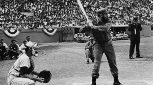 Fidel-practicando-beisbol