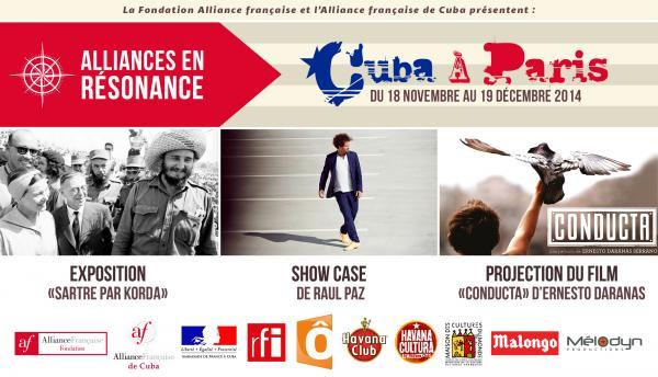 Alliances en résonnance, Cuba à Paris 18 novembre – 19 décembre - Com - RFI